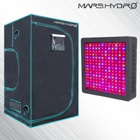 Mars II 900W LED Full Spectrum Grow light+1680D Box 120x120x200cm grow tent for Hydropocics