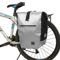 Waterproof Bike Rear Seat Bag Large Capacity MTB Road Bicycle Rear Rack Pannier Pouch Cycling Bag Bike Trunk Pack