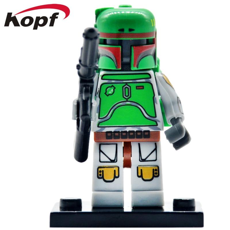 Single Sale Building Blocks Super Heroes Black Soldiers Trooper Commander Bricks Education Figures For Children Toys PG640