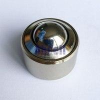 10pcs 30mm KSM 30 Ball Universal Bearings Bovine Wheel Bovine Flat Round Ball Metal Transfer Bearing