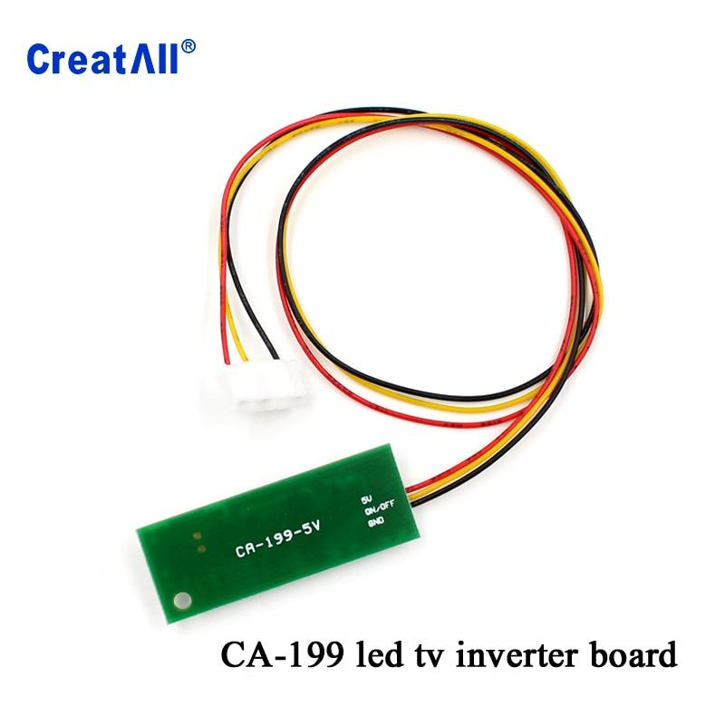 100pcs CA 199 5V to 9V boost constant current board LED go up voltage univeral one lamp inverter board for laptop notebook car - 2