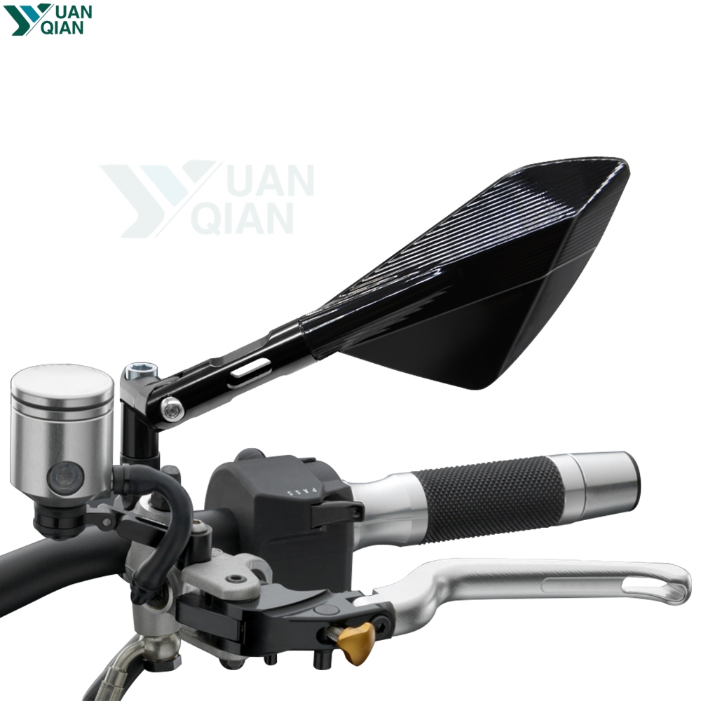 Miroir latéral de moto pour vmax 1200 fz1 hyosung gt650r vtx1800 cbr650f bmw rninet kawasaki er5 cb500f benelli trk502