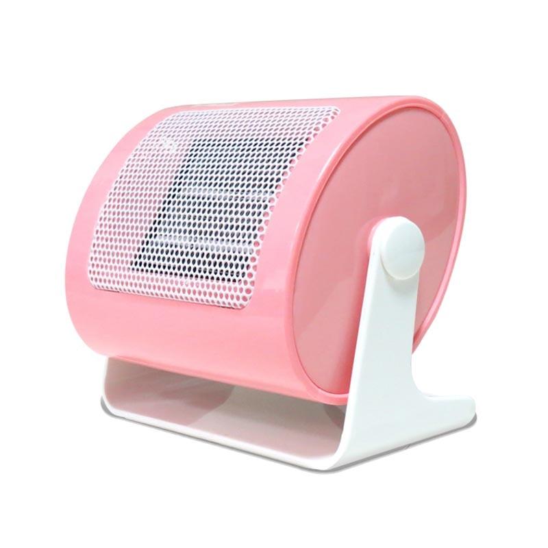 PTC Ceramic Mini Heaters Electric 220V 500W Warm Winter Mini desktop Portable Personal Fan Heater Forced Home Applicance