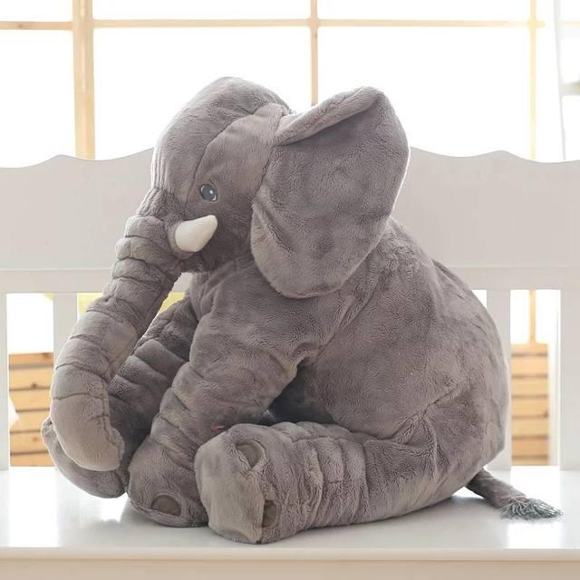 Elephant Shape Soft Pillow