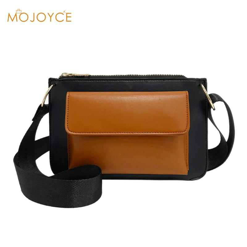 2018 Vintage Women Messenger Bag PU Leather Shoulder Bags Single Strap Crossbody Bags Female Flap Messenger Bags for Ladies Girl