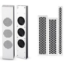 Для Xbox one Slim ONE S USB внешний супер Turbo контроль температуры вентилятор охлаждения Cooler 3 + DIY Защита от пыли пыле