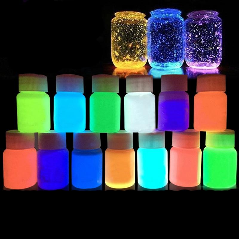 15 g lumineux Gravier sable Fish Tank Aquarium lueur fluorescente Ornements Cadeaux Hot Décorations Aquariophilie, bassins, mares
