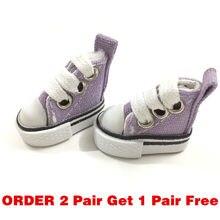 e560d4491a BEIOUFENG 3.8 cm Boneca Sapatos Sapatilhas Sapatos para Blythe Boneca de  Brinquedo