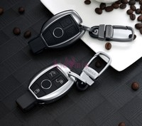 Accessories For Mercedes Benz CLA GLK GLA 200 AMG GLC 260 C180 C200 B200 S C E Class W213 Key Chains Case Ring Cover Car Styling