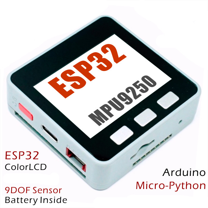 New M5stack Esp32 Control Board Kit Mpu9250 Stackable Wifi Ble For Arduino Grove