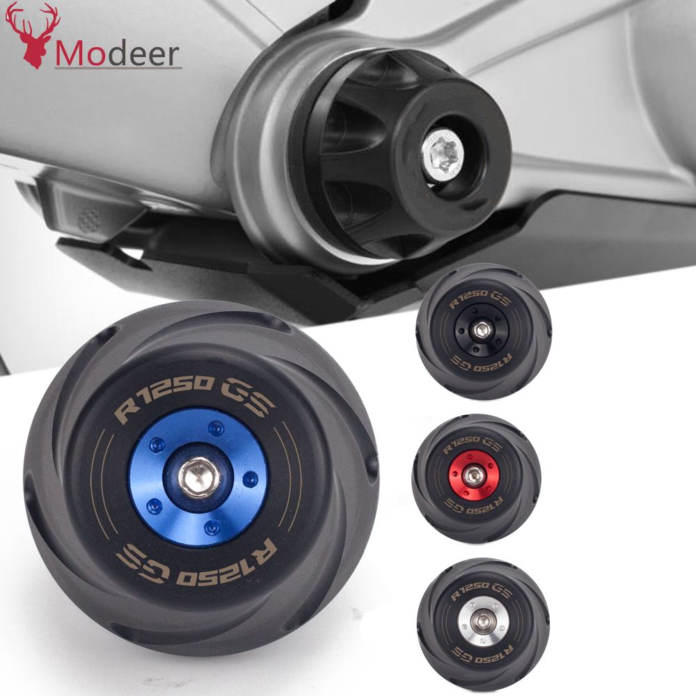 R1250GS Motorcycle Frame Slider Wheel Sliders Crash Pad Falling  Protector Guard Cover For BMW R1250 GS HP LC R 1250GS AdventureCovers