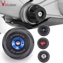 R1250GS دراجة نارية الإطار المنزلق عجلة المتزلجون تحطم وسادة السقوط حامي غطاء حماية لسيارات BMW R1250 GS HP LC R 1250GS مغامرة