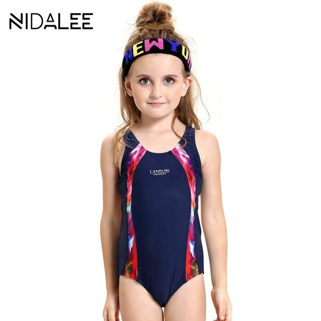 660bd19ed81 New Style 2018 Lovely Kids One-piece Swimwear Girls Brand Swimsuit Children  Bathing Suit Little Girl Swimsuit Baby Swimwear