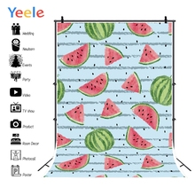 Yeele Photography Backdrop Birthday Photocall Watermelon Painting Baby Shower Kid Custom Background Photo Photophone
