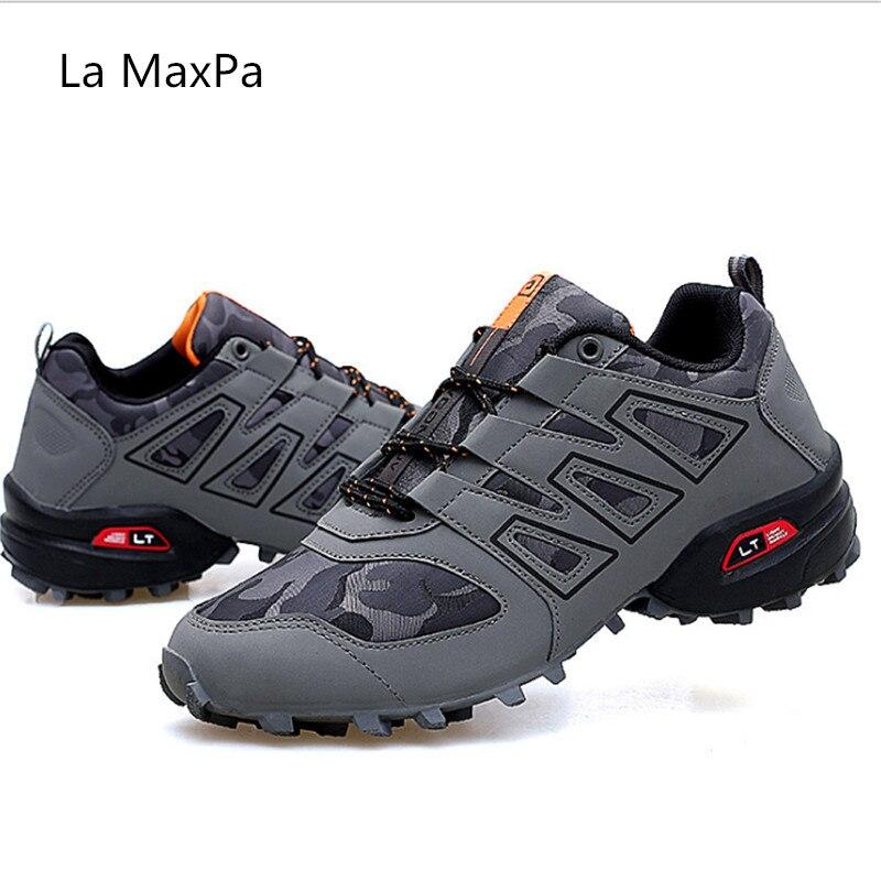 2018 nouveaux hommes baskets maille respirant chaussures de course hommes chaussures Sport homme en plein air marche zapatos hombre anti-dérapant tout-terrain