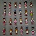 Оптовая продажа 50 шт./лот Legoe Друзья каваи милый minifigure Строительные блоки Подарок для девушки Лепин город Action & Toy Цифры моана lps