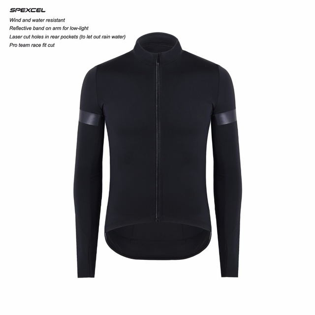 2019 UPDATE CUT SPEXCEL Technology Windproof and rain protection Cycling Jersey long sleeve protection combined Bicycle clothes