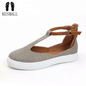 KESMALL Round Head Casual Shoe