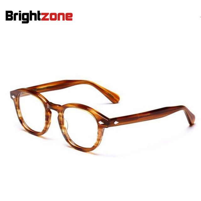fa6e14e005 New Arrival High Quality Vogue Vintage brand Johnny Depp Unisex Optical  Frame Eyeglasses Spectacles Frames Prescription