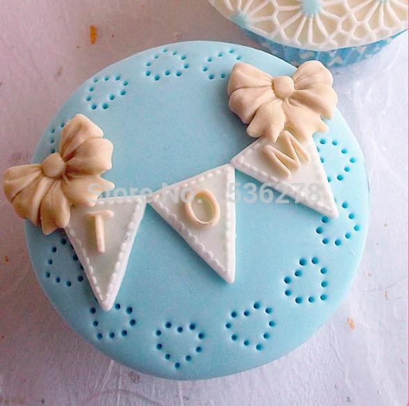 Fondant Mold Silicone Cake Pelėsiai sausas Pez abėcėlė Vėliava - Virtuvė, valgomasis ir baras - Nuotrauka 1