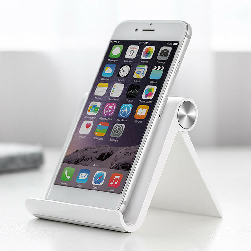 Anti-slip Silicone Cradle Dock  Universal Foldable Cell Phone Stand Desk Phone HolderFor IPhone Samsung Huewei Xiaomi