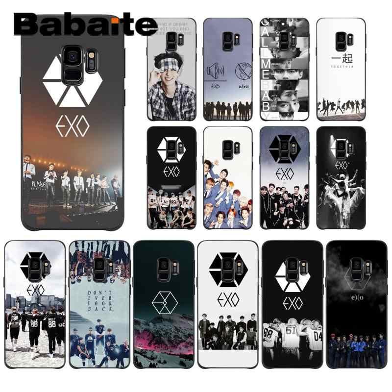Babaite Park Chanyeol Exo Star Colorful Cute Phone Case For Samsung Galaxy J7 J2pro J4 J4 Puls J6 J6 Prime J8 Aliexpress