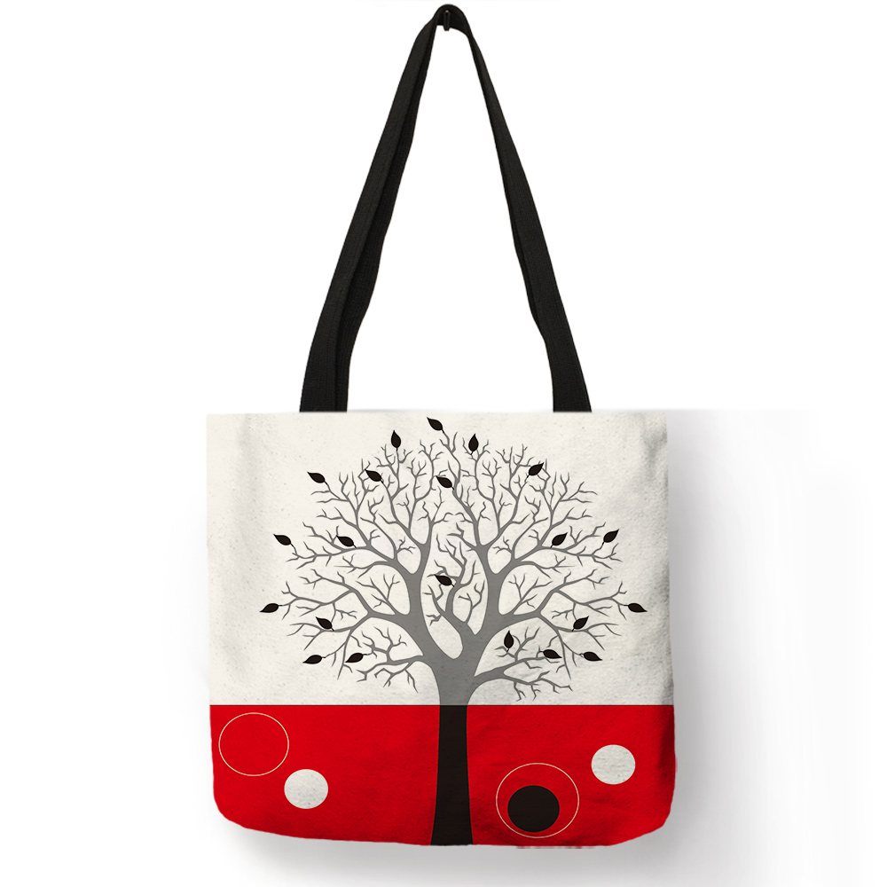 Abstract Red Colors Shapes Texture Sphere Artistic Original Shoulder Bag Pumping Rope Backpack