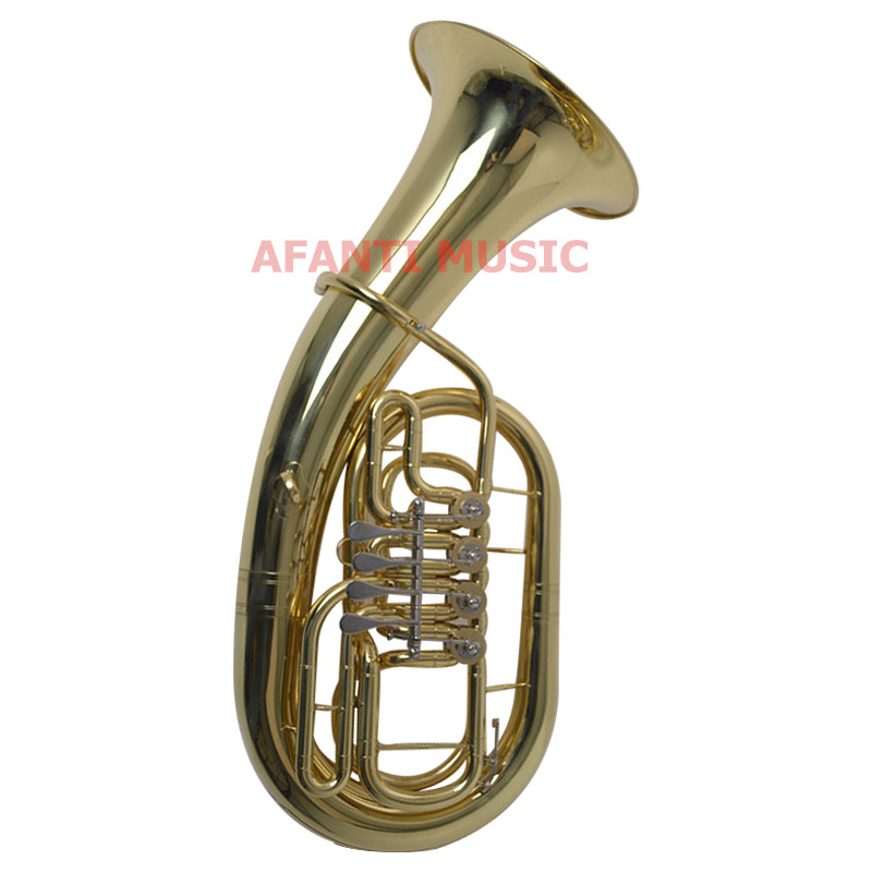 Afanti Music Bb tone / Yellow Brass / Gold Lacquer Baritone(BAR-120)Afanti Music Bb tone / Yellow Brass / Gold Lacquer Baritone(BAR-120)