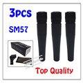 3 шт. оптовая Лучшие качества SM57LC Бесплатная доставка вокальный Караоке микрофон динамический проводной ручной микрофон SM57LC
