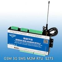 Король Голубь S275 Бесплатная доставка GSM SMS GPRS регистратор данных влажности аналоговый контроллер sms оповещение телефон Управление реле/выкл