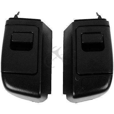 Black Trunk Side Pocket Saddlebag For Honda GL1800 GOLDWING 2006 2012 New