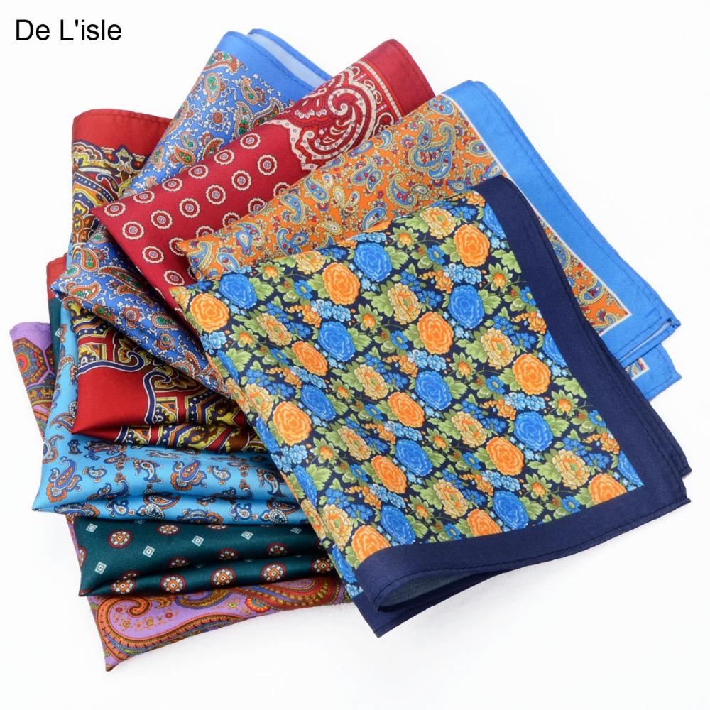 2019  New Arrival 100% Natural Silk Handmade Pocket Handkerchief Premium Square Hanky With Giftbox
