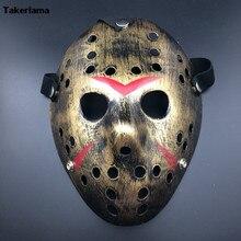 Costume Halloween Killer-Mask Friday Jason Cosplay Party Black Adult Takerlama Festival