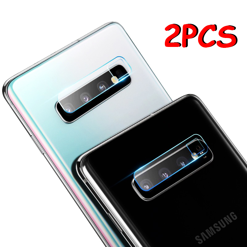 2PCS/Lot Camera Len Film Tempered Glass For Samsung Galaxy S10 Plus S10e S9 S8 Plus S7 Edge Note 9 8 Lens Screen Protector Cover