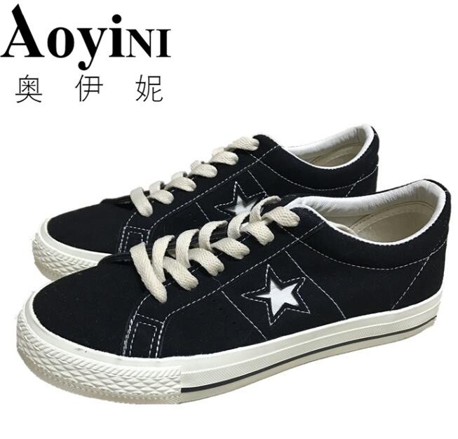 2018 New Spring Women Canvas Shoes Lace up Black Sneakers Breathable Students Casual Shoes Flat For Woman Footwear Zapatos Mujer de la chance women vulcanize shoes platform breathable canvas shoes woman wedge sneakers casual fashion candy color students