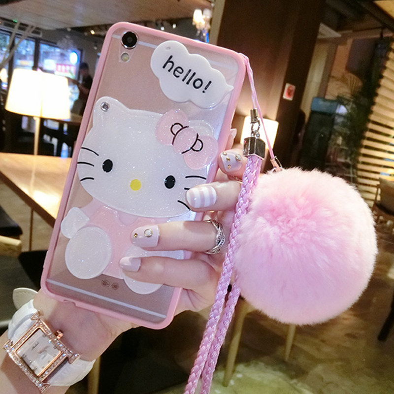 Broom Stick Bunny Mirror: For Huawei P20 Lite Plus P10 Selfie Mate 10 Lite Pro Girls