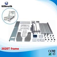DIY Mini CNC Router Frame 3020T Trapezoidal Screw Engraving Machine Parts Free Tax To Russia