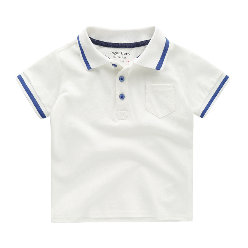 Cotton Children's Short-sleeved T-shirt In The Big Children's Clothing Girls Boys Summer 2019 New Vest Baby Shirt