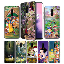 Snow White Seven Dwarfs Soft Black Silicone Case Cover for OnePlus 6 6T 7 Pro 5G Ultra-thin TPU Phone Back Protective