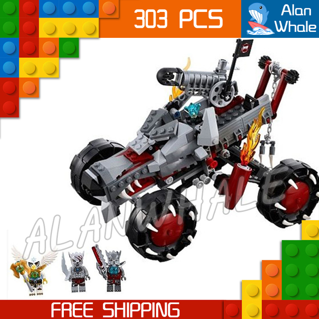 303pcs 2016 Bela new 10058 Wakz Pack Tracker amazing fascinating mysterious Winzar Equila wheel shooter Compatible with Lego