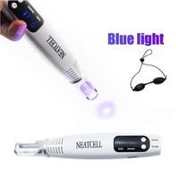 Picosecond Laser Pen Blue Light Therapy Pigment Tattoo Scar Mole Freckle Laser Picosecond Pen Removal Dark Spot Remover Machine
