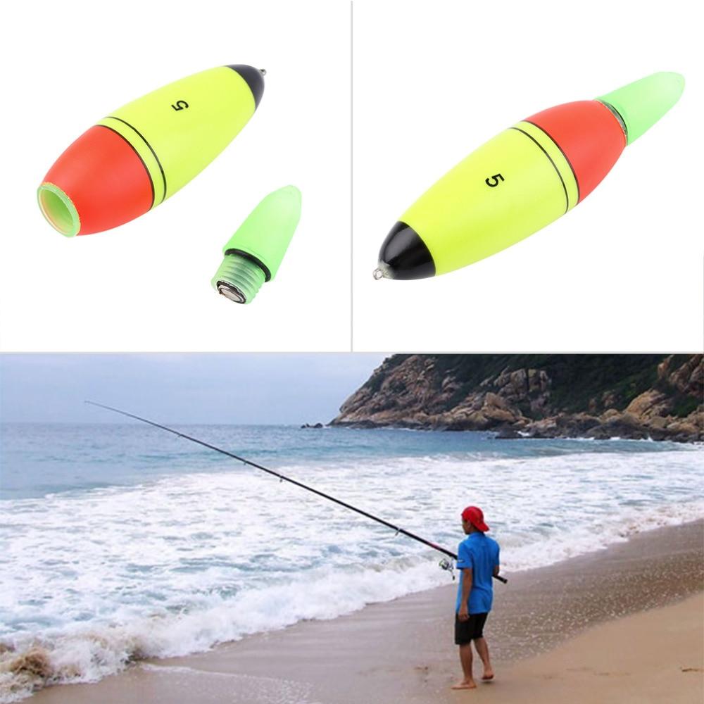 Fishing 1pc Foam Fishing Lure Floats Slip Drift Tube LED Indicator Outdoor Accessory Strong Electric Light Effect drop shipping