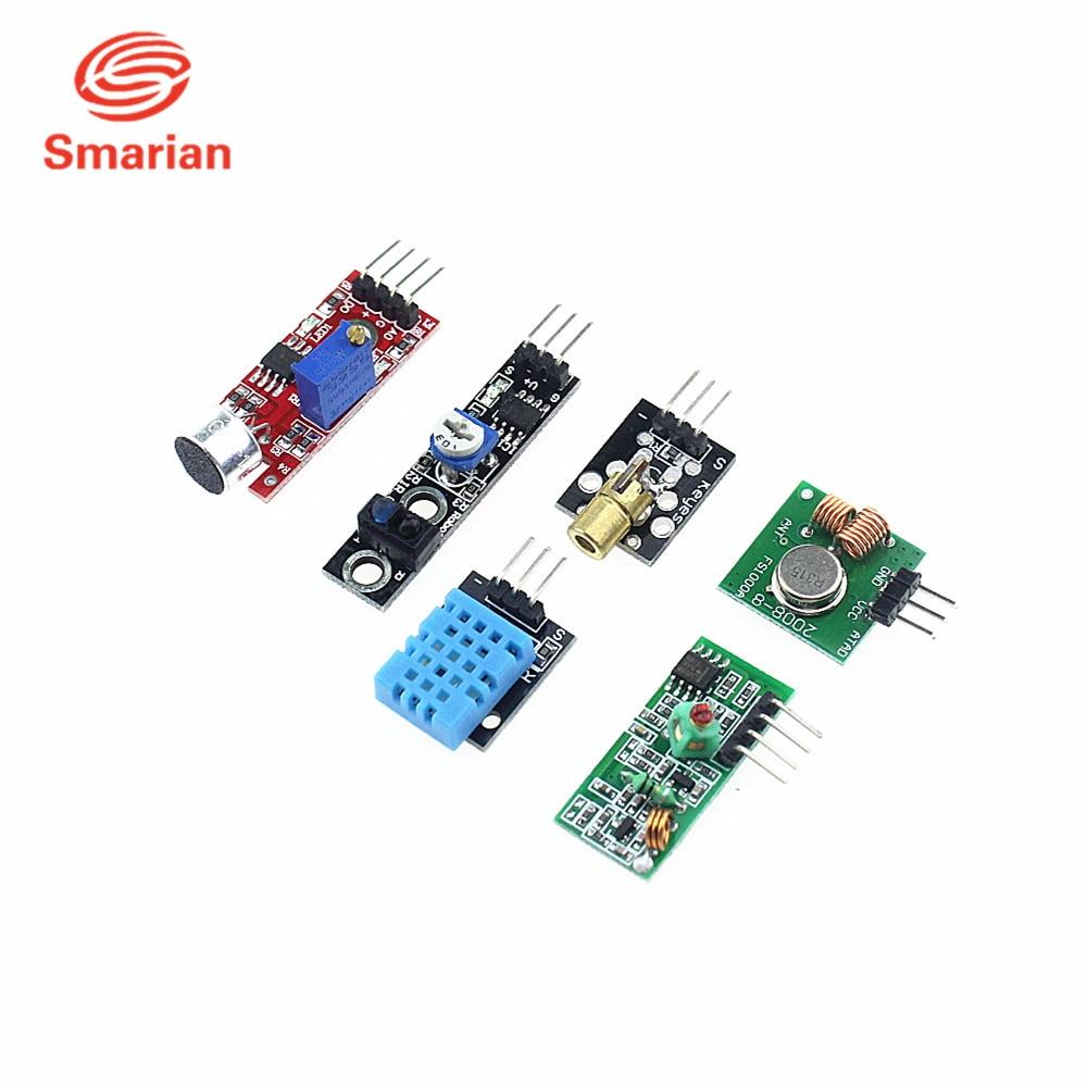 Official smarian Smart Electronics 16 kinds of sensor Raspberry Pi 3 ...