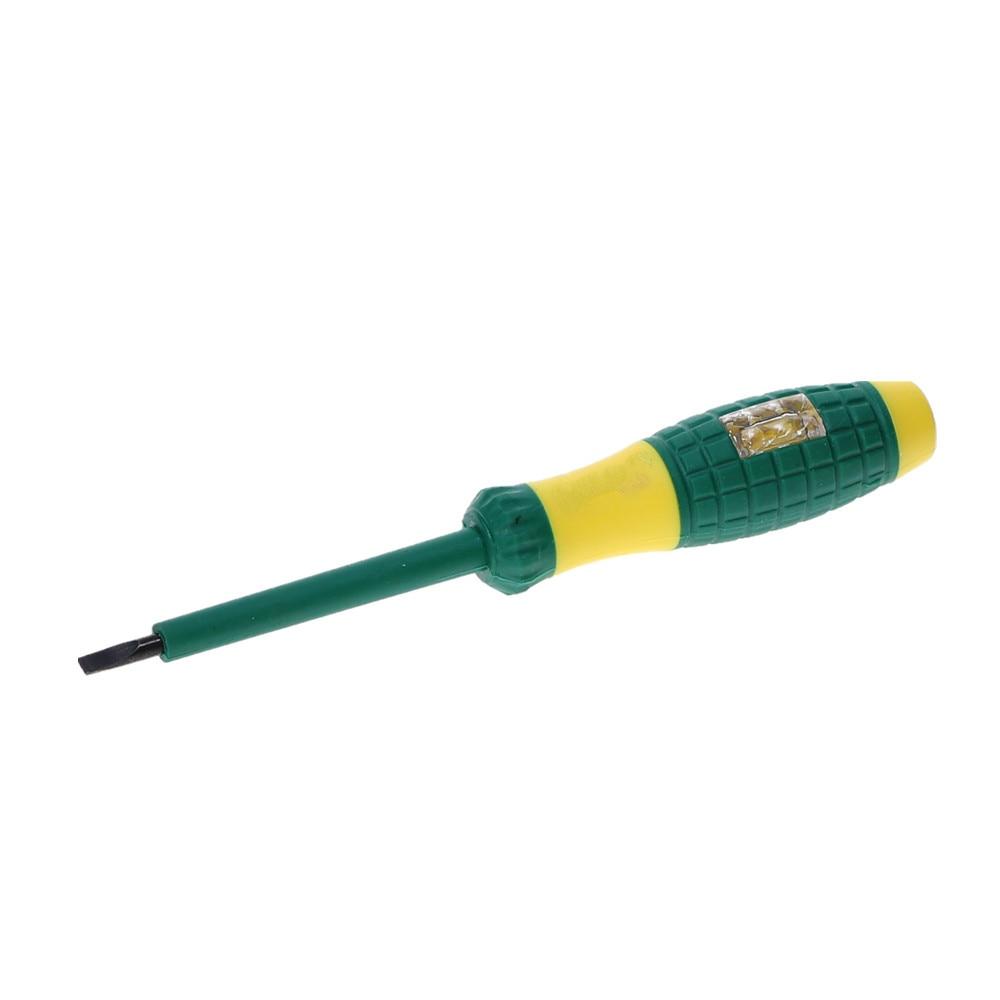 220V Electrical Tester Pen Screwdriver Voltage Test Power Detector Probe Lead