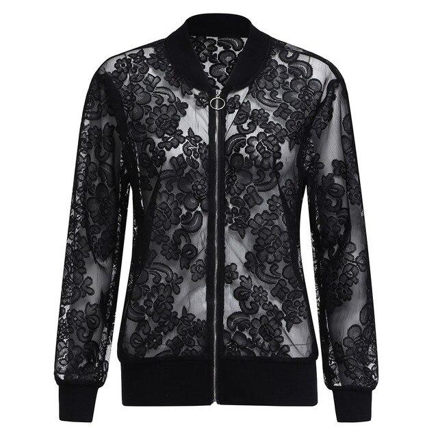 Kleidung frauen frühjahr und sommer große größe spitze jacke XL-5XL lange-sleeved zipper einfarbig casual sonnencreme jacke