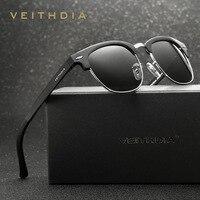 Female High End Aluminum Magnesium Retro Reflective Sunglasses Colorful Polarized Sunglasses Manufacturers Selling 6690