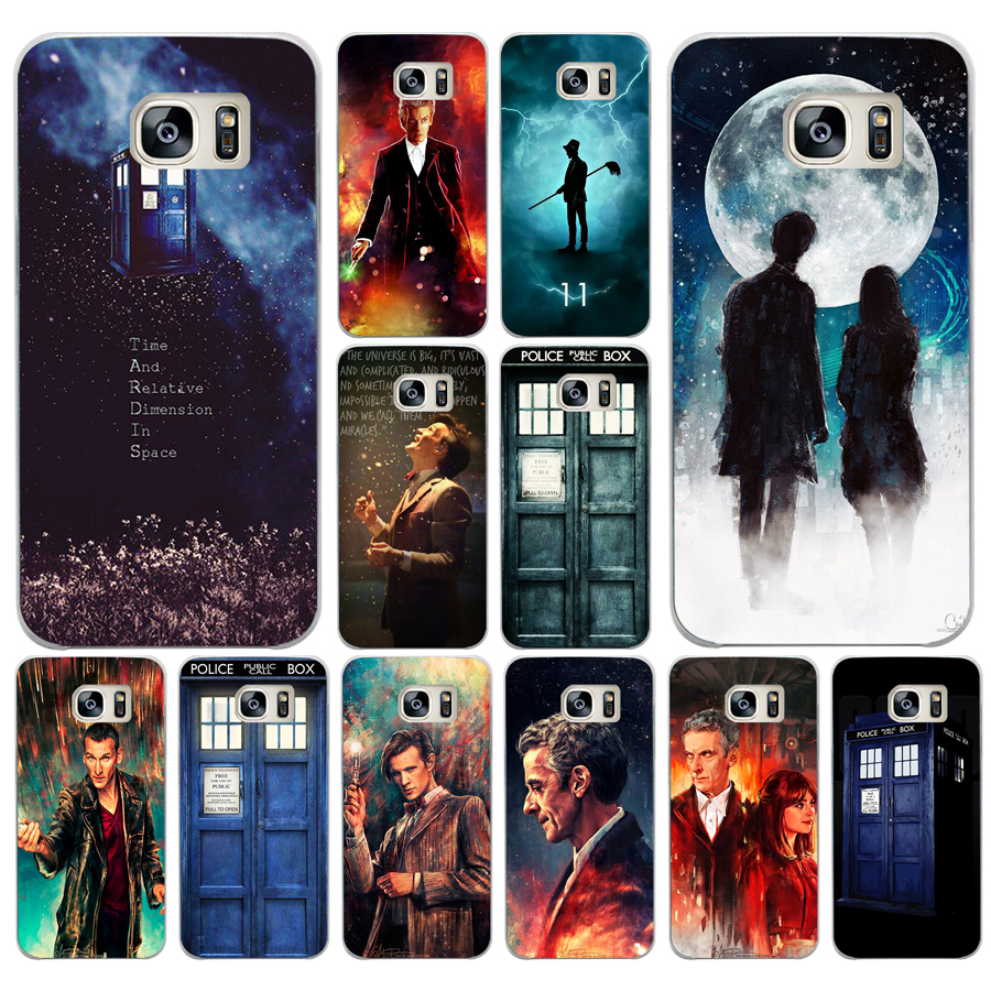 Half-wrapped Case Special Section 294df Tardis Box Doctor Who Hard Cover Case For Samsung Galaxy S4 S5 Mini S6 S6 S8 S9 Edge Plus S7 Edge Firm In Structure