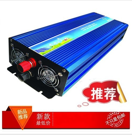 цена на free shipping 3000W Pure Sine Wave Inverter 12V/24V/48V to 110V/220V Car Power Inverter digital Display