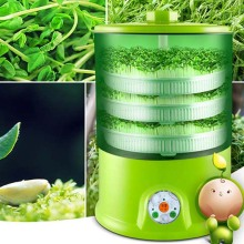 bean sprout machine home grow automatic 3 layers large capacity intelligent multi functional smart home bean sprout tray machine