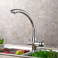 hot and cold mixer faucet manufacturers supply kitchen tap 360 degree all copper sink faucets deck mounted